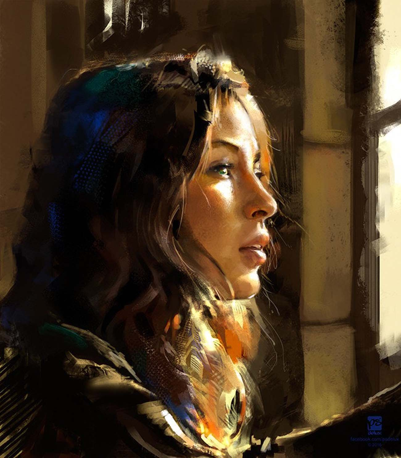 Psdelux | Paintable.cc Digital Painting Inspiration - Learn the Art of Digital Painting! #digitalpainting #digitalart