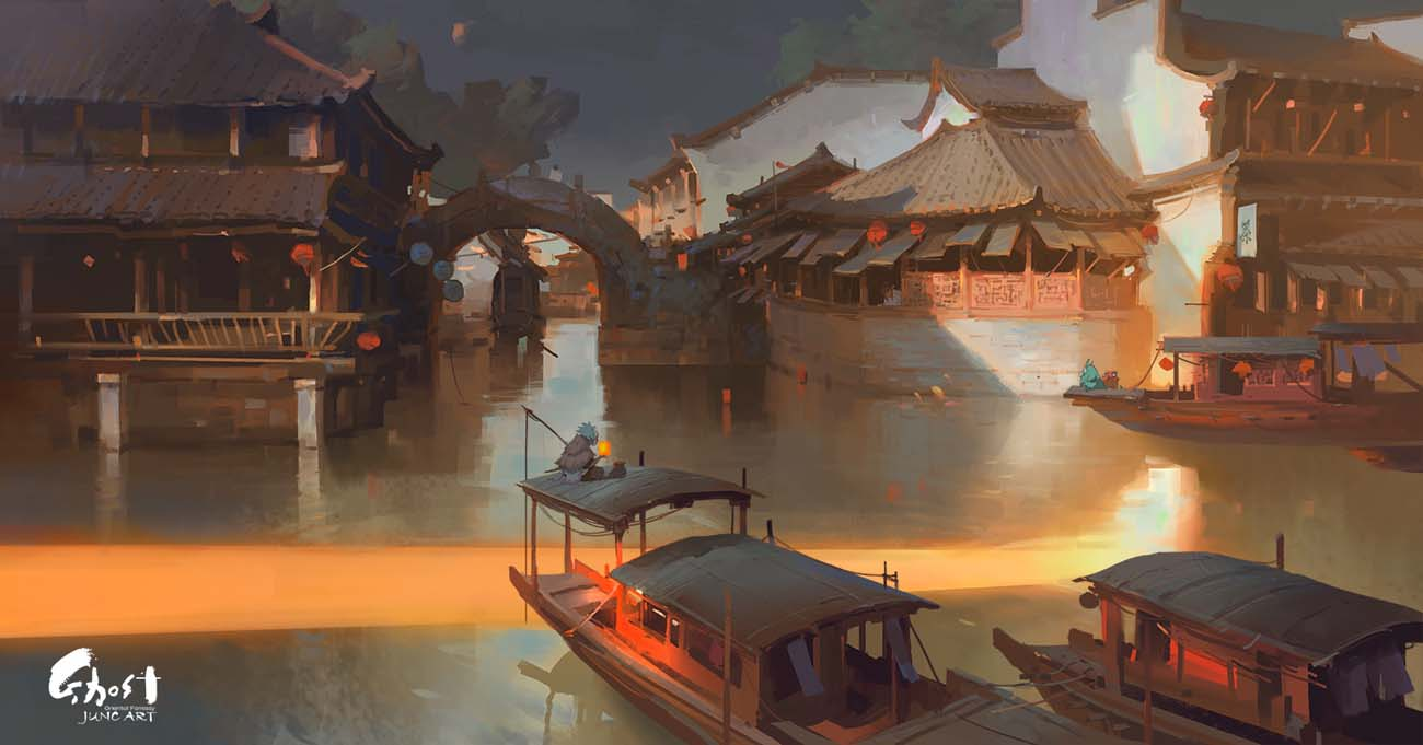 Wenjun Lin | Paintable.cc Digital Painting Inspiration - Learn the Art of Digital Painting! #digitalpainting #digitalart