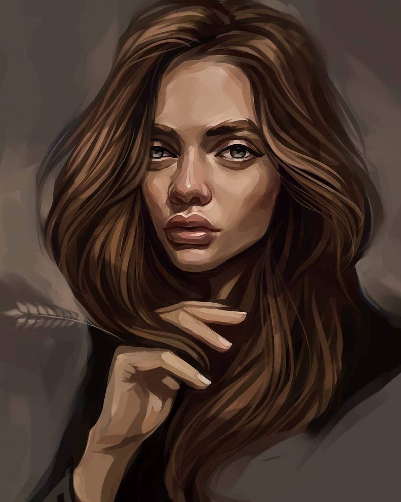 Still Dox | Paintable.cc Digital Painting Inspiration - Learn the Art of Digital Painting! #digitalpainting #digitalart