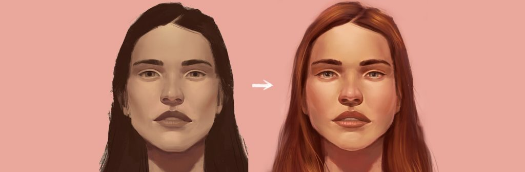 Tips for Coloring Your Digital Painting Portraits