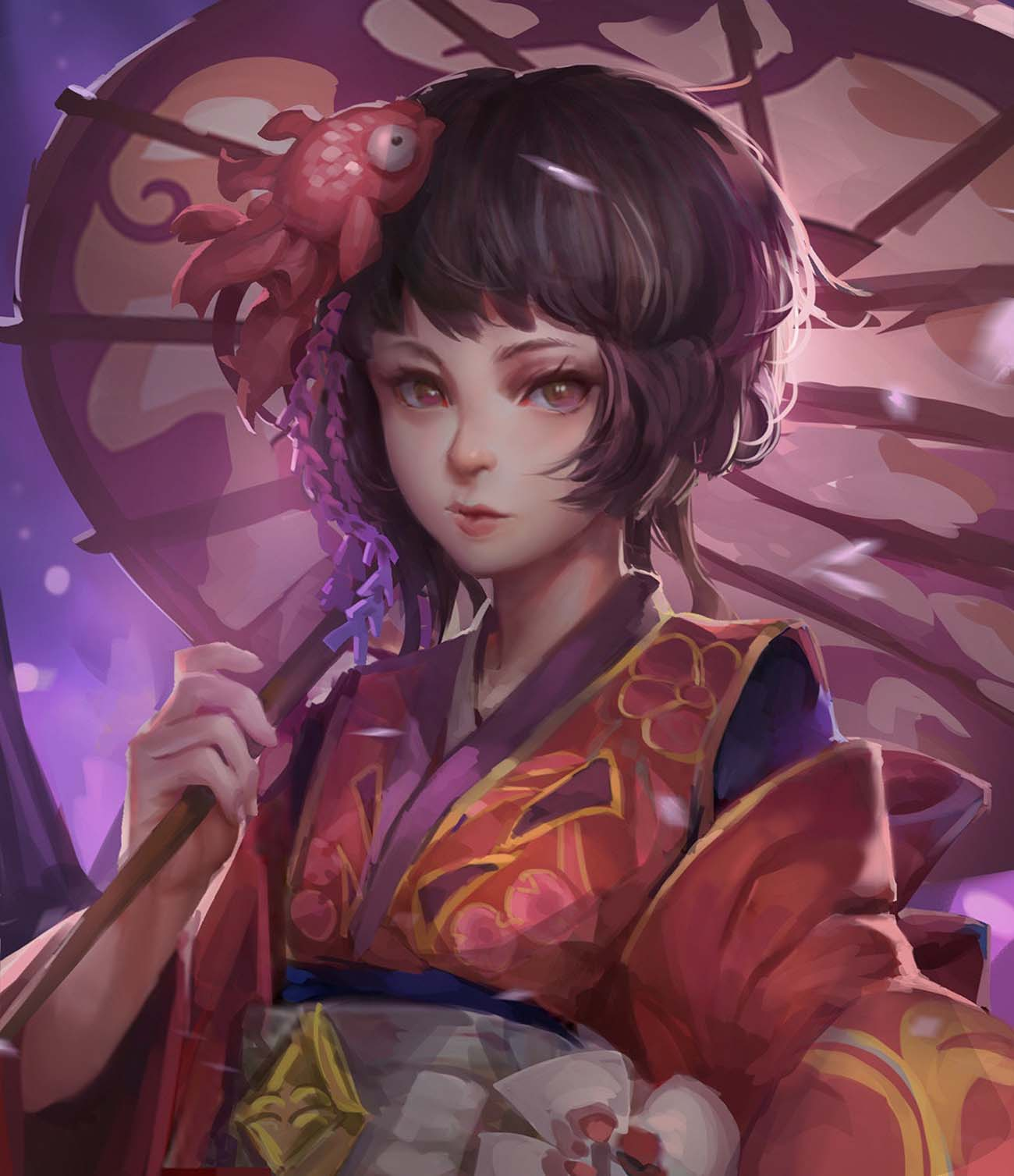 田 烏鴉 | Paintable.cc Digital Painting Inspiration - Learn the Art of Digital Painting! #digitalpainting #digitalart