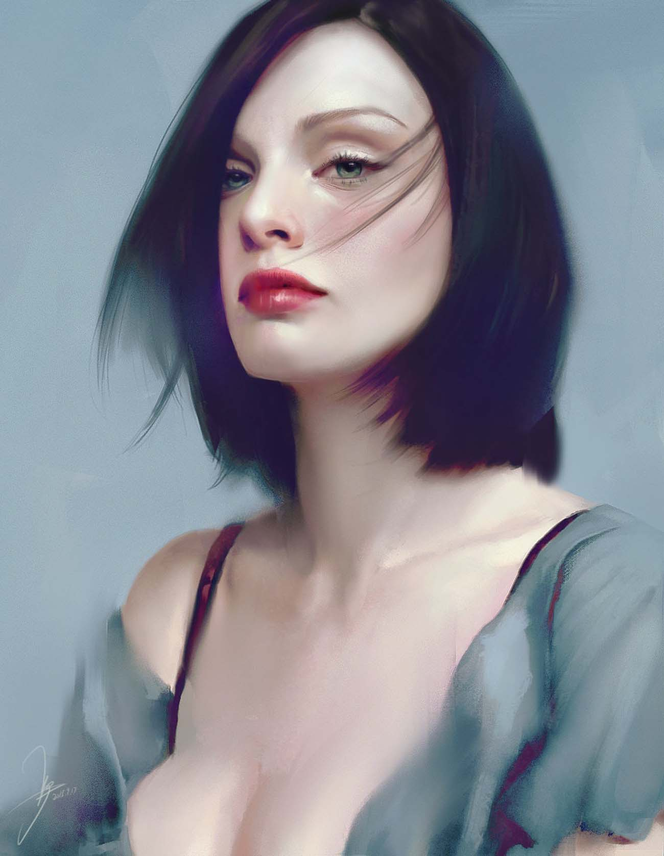 JUN YOU | Paintable.cc Digital Painting Inspiration - Learn the Art of Digital Painting! #digitalpainting #digitalart