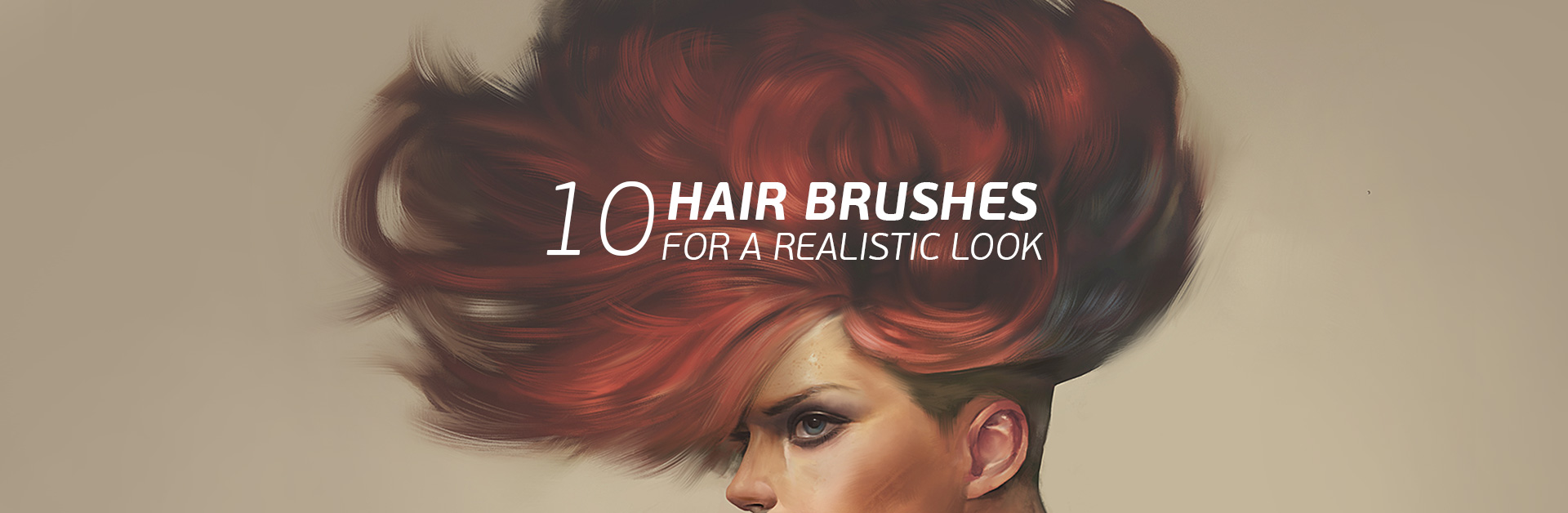The ULTIMATE Brushes for Painting Realistic Hair (In Just 5 Minutes!)