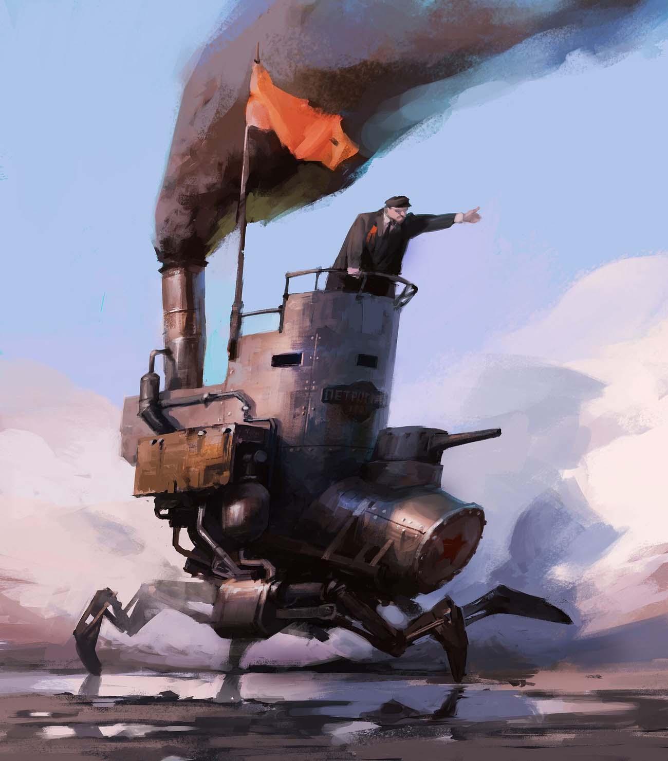 Vladimir Malakhovskiy | Paintable.cc Digital Painting Inspiration - Learn the Art of Digital Painting! #digitalpainting #digitalart