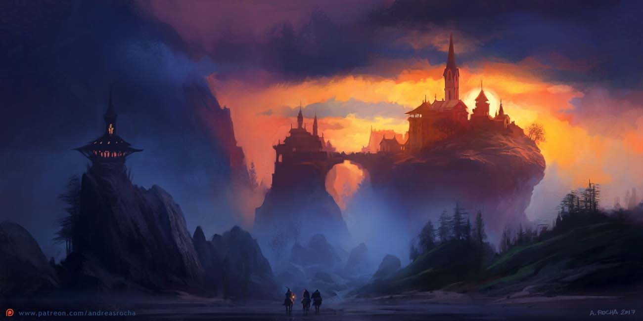 Andreas Rocha | Paintable.cc Digital Painting Inspiration - Learn the Art of Digital Painting! #digitalpainting #digitalart