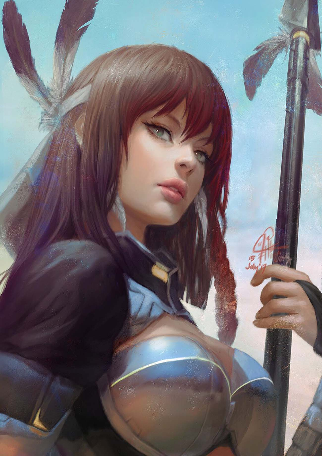 Ina Wong | Paintable.cc Digital Painting Inspiration - Learn the Art of Digital Painting! #digitalpainting #digitalart