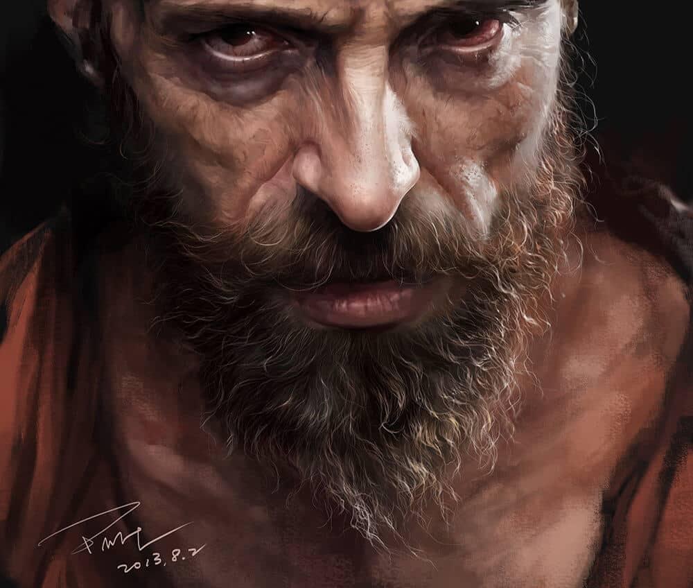 """""""Jean Valjean"""" by Menghua Fang"""