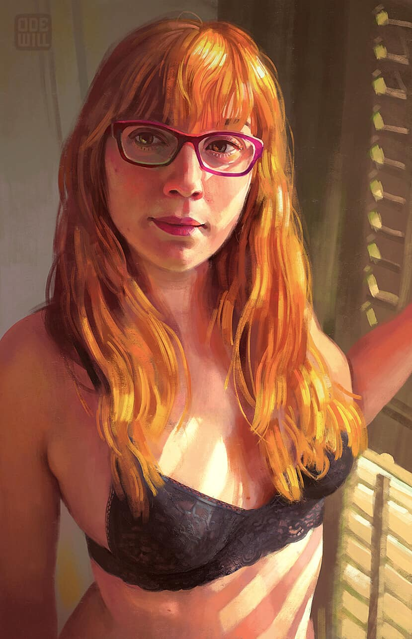 """Marta Portrait"" by Paco Martinez Tomas"