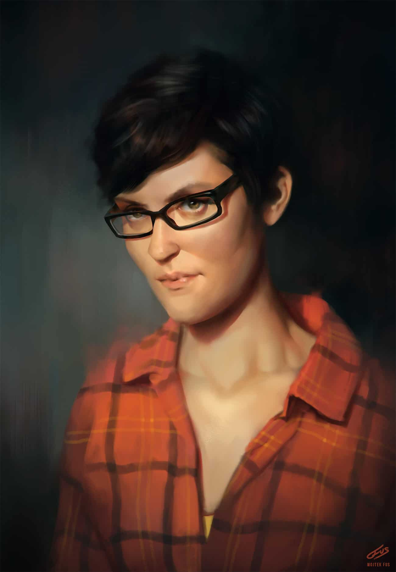 """Portrait"" by Wojtek Fus"