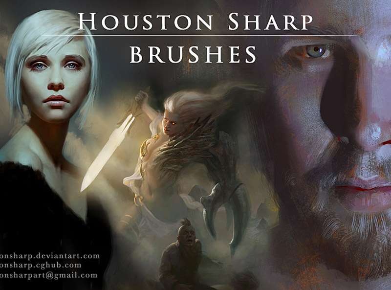 Houston Sharp's Brushes