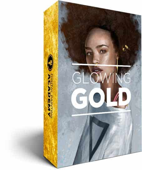 Glowing Gold: Painting Jewellery