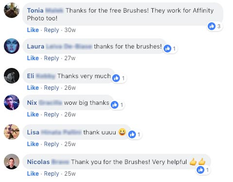 What People Say About Our Brushes