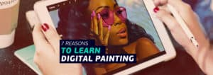 Reasons to learn digital painting this year