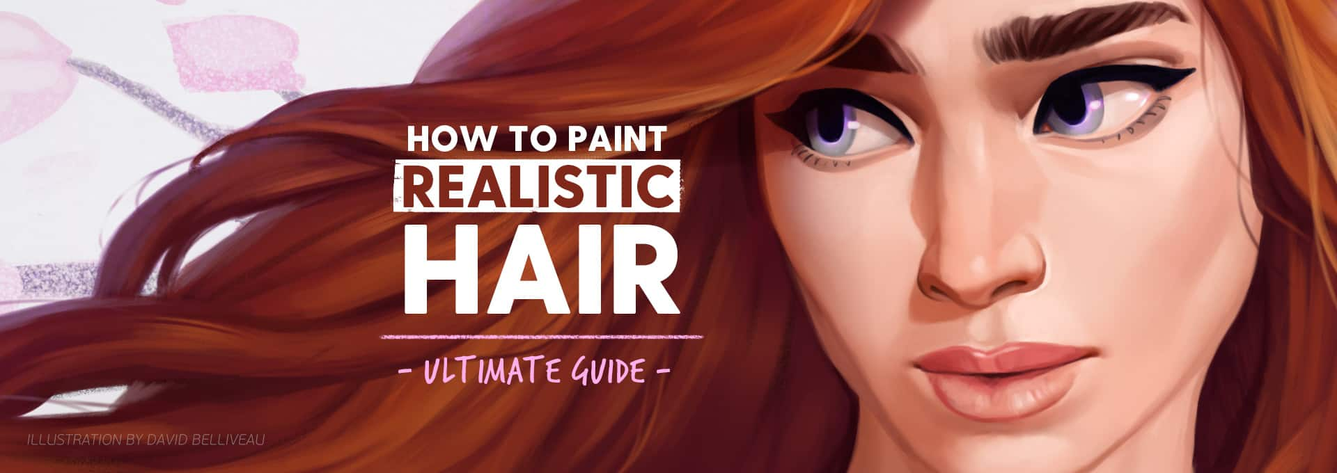 Painting Realistic Hairstyles The Ultimate Guide Paintable