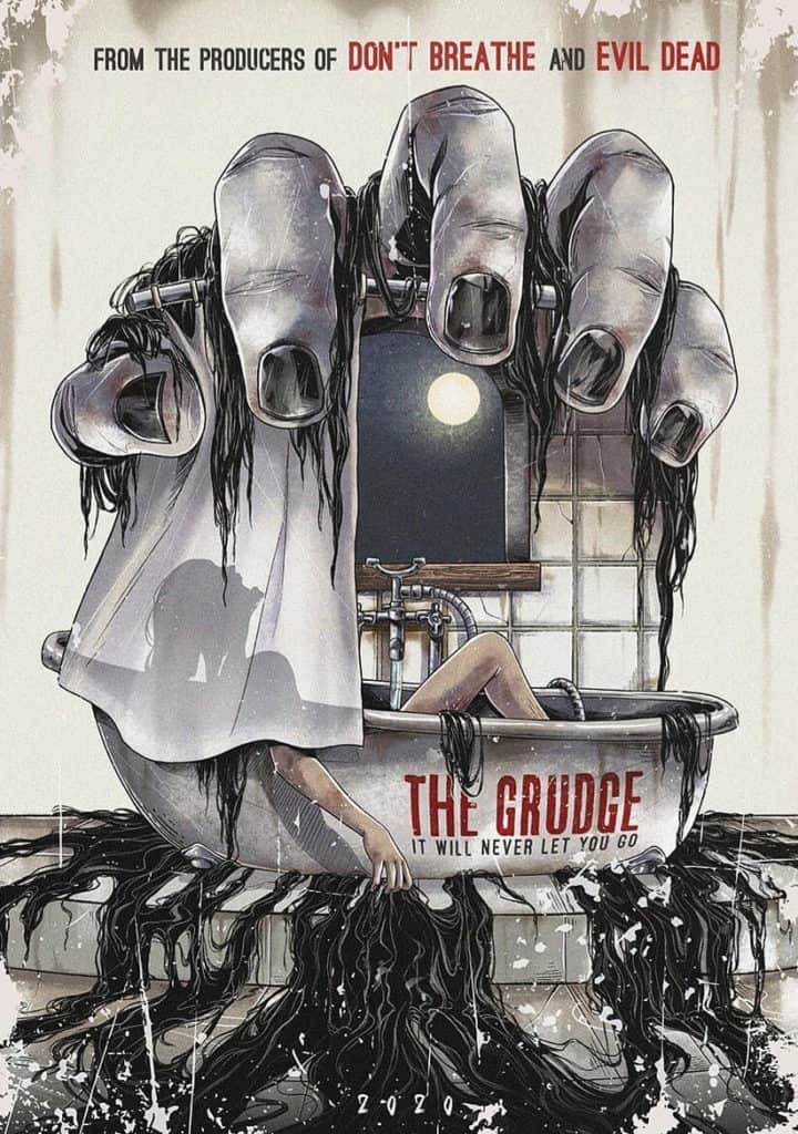 the grudge Movie Poster - Digital Painting