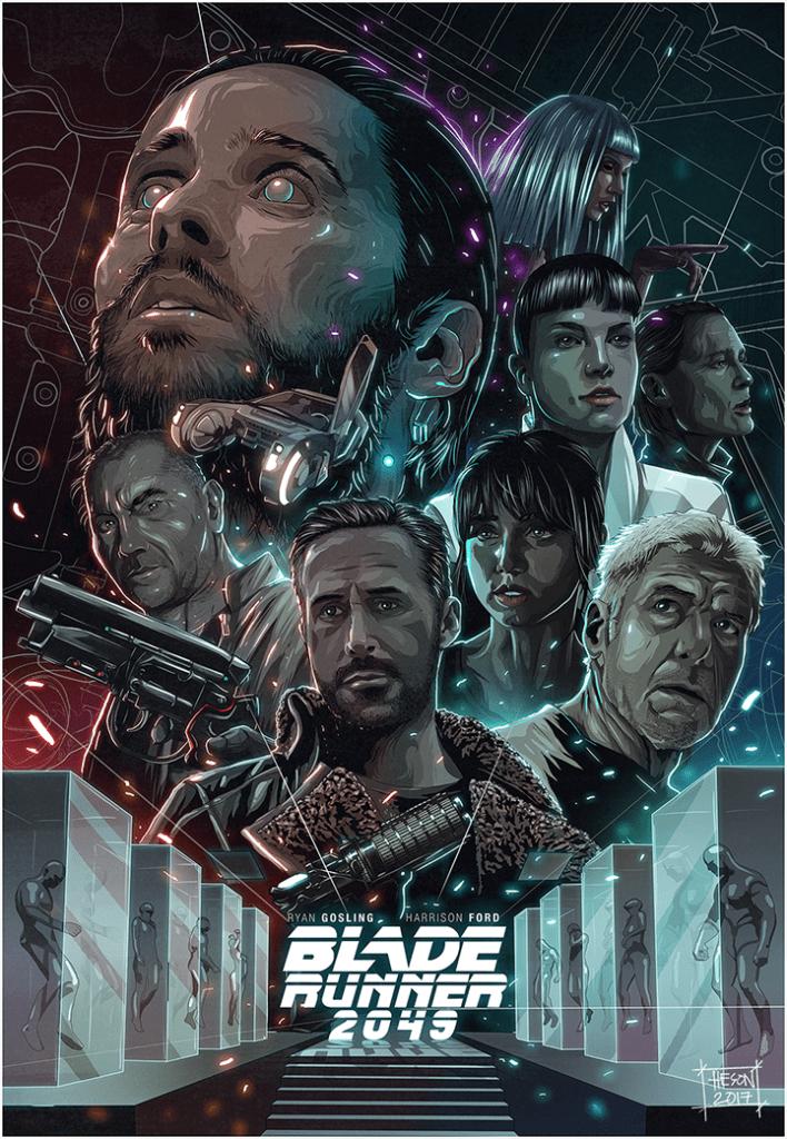 Blade Runner Movie Poster - digital painting