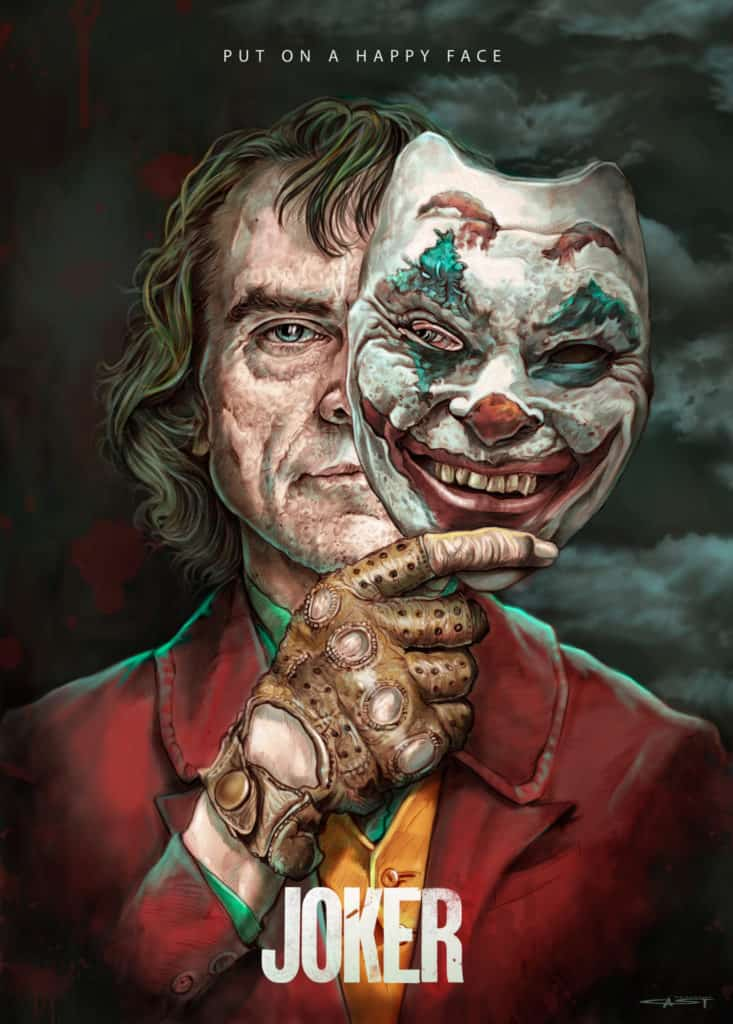 Joker Movie Poster - Digital Painting