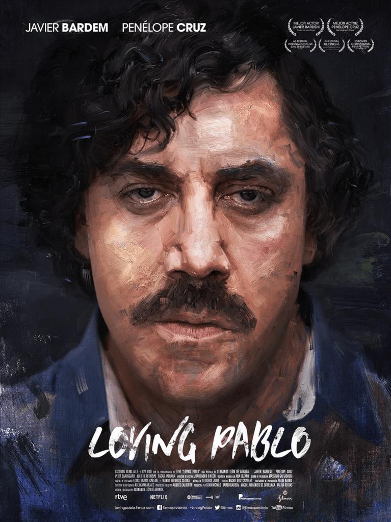 Loving Pablo Escobar Movie Poster - Digital Painting