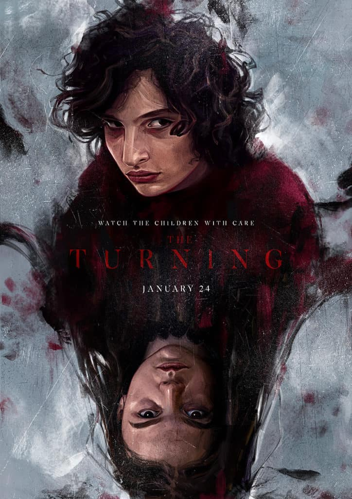 The turning movie poster - Digital painting