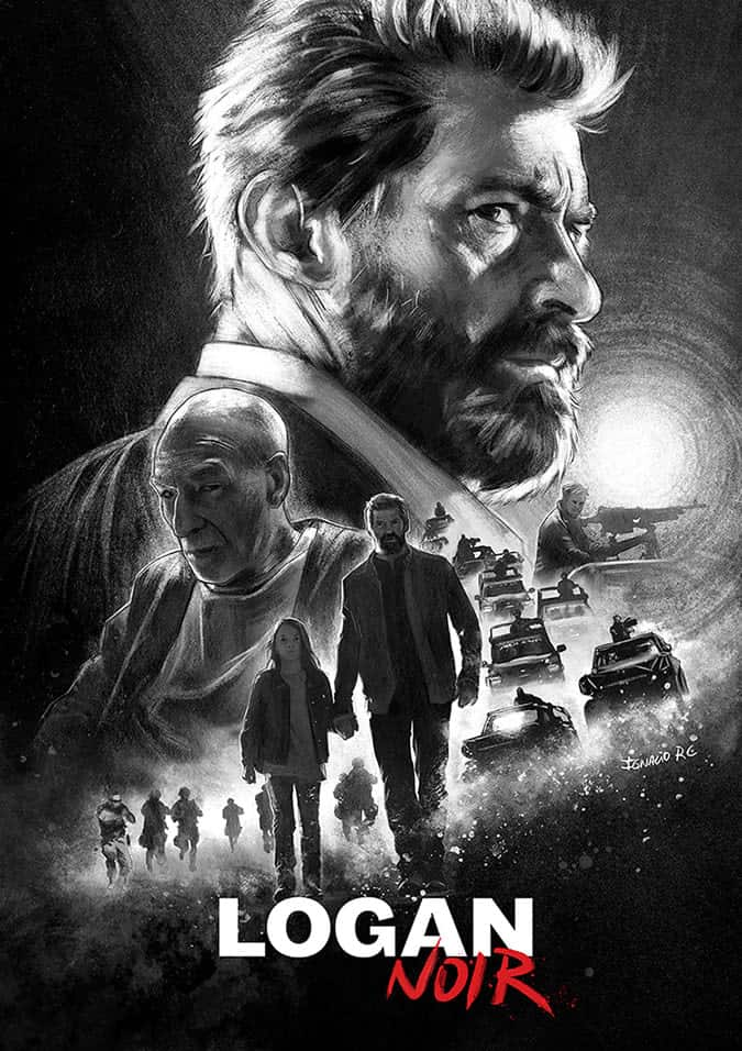 Logan Movie Poster - Digital Painting
