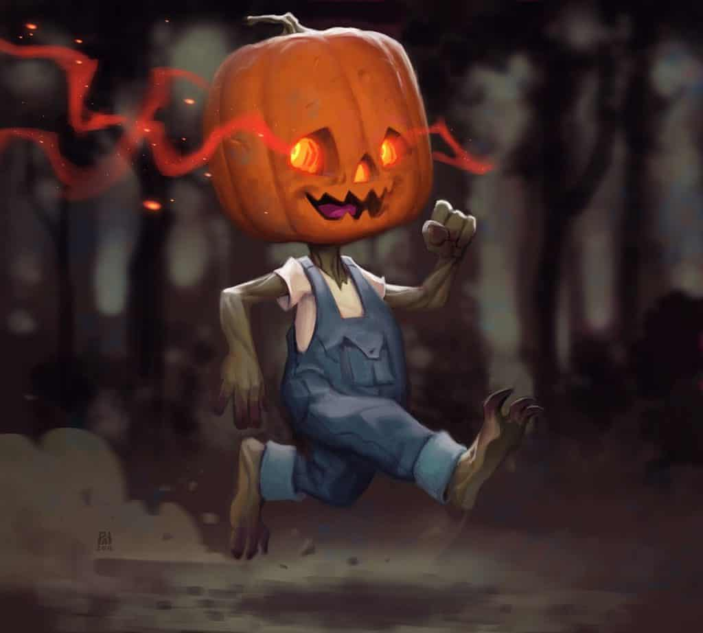Digital Painting Pumpkin Carving Challenge - Paintable Gallery
