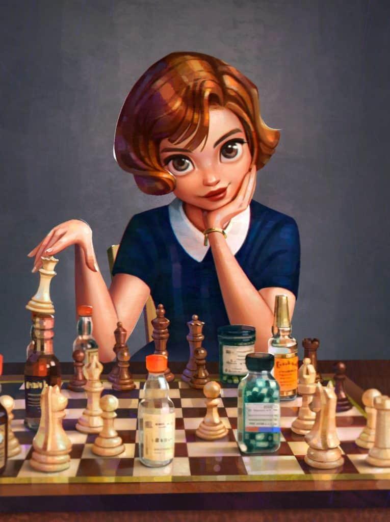 The Queen's Gambit Fan Art
