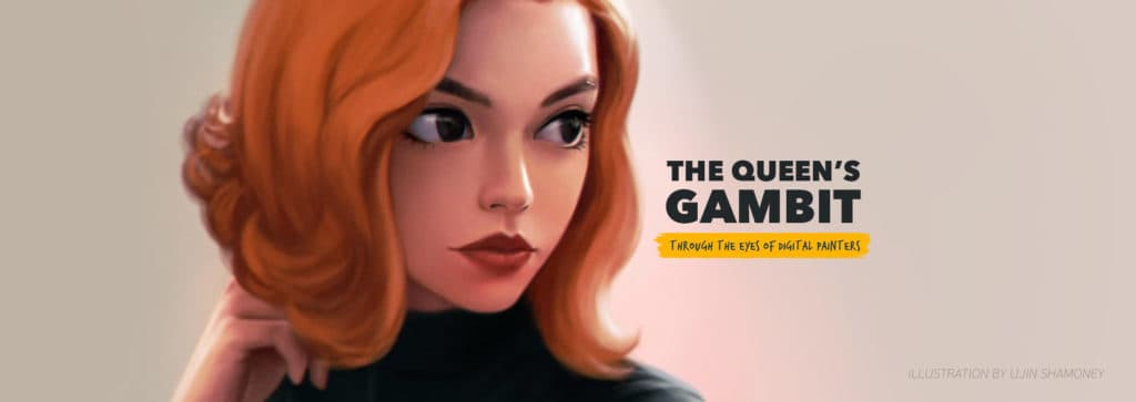 The Queen's Gambit Illustrations - Paintable.cc Digital Painting Gallery