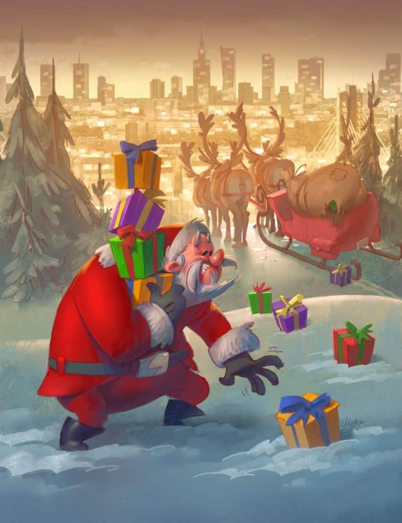 Christmas Paintings - Paintable.cc Digital Painting Gallery