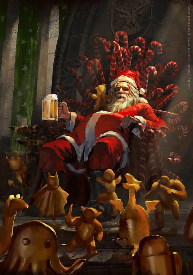 Christmas Paintings - Paintable.cc Digital Painting Gallery