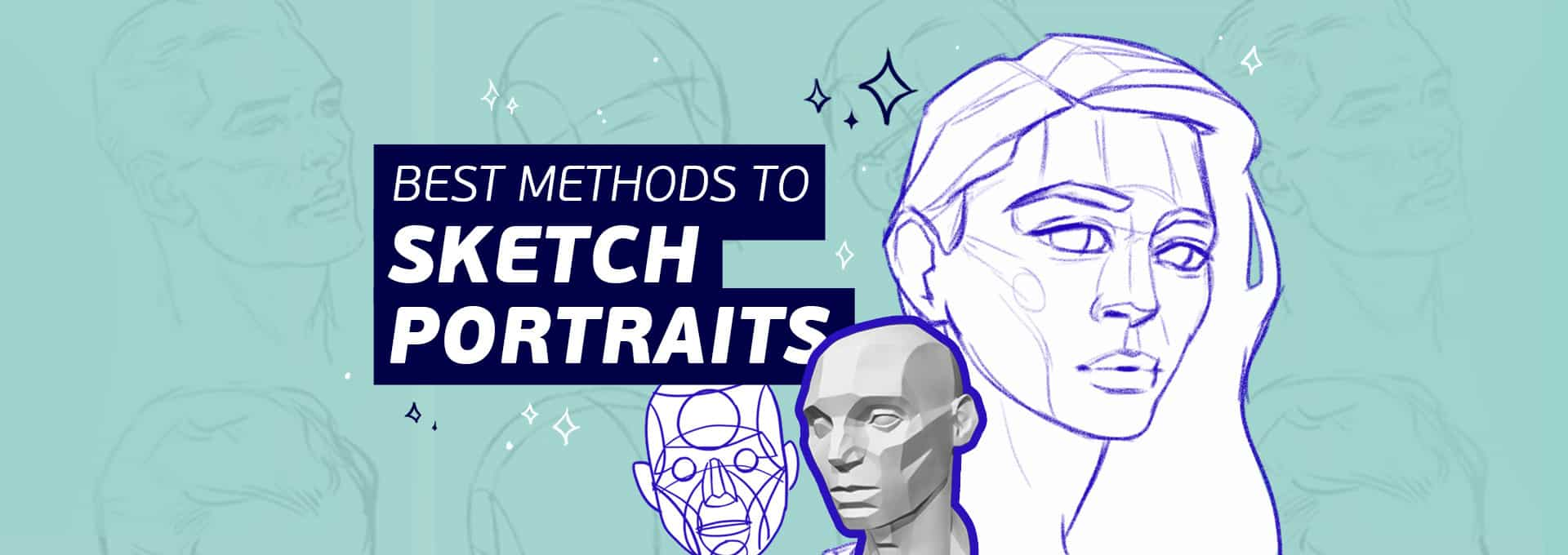 Best method to draw a digital portrait