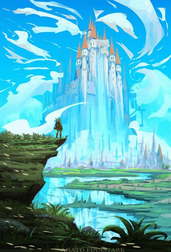 The Legend of Zelda: The Breath of The Wild | Paintable.cc Digital Painting Inspiration