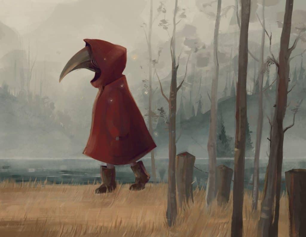 Little Red Riding Hood - Digital Painting Inspiration | Paintable.cc- Irene Gala