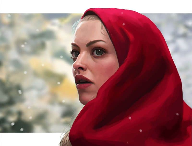 Little Red Riding Hood - Digital Painting Inspiration | Paintable.cc - Daniela Uhlig