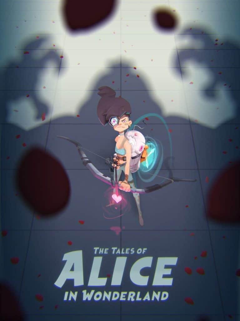 Futuristic Alice In Wonderland