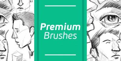 50+ Premium Brushes & Templates
